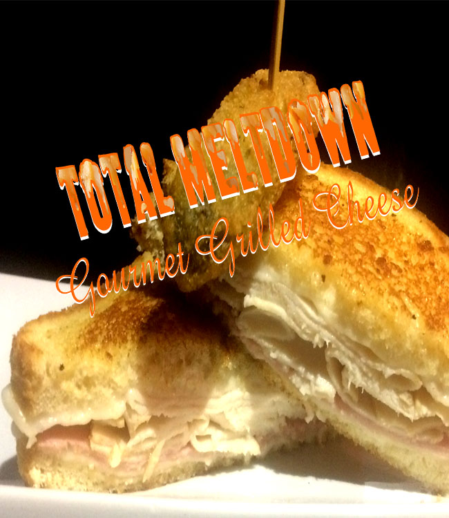 Total Meltdown Cordon Bleu Grill Cheese Sndwich